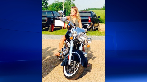 Carrie Underwood gets a motorbike