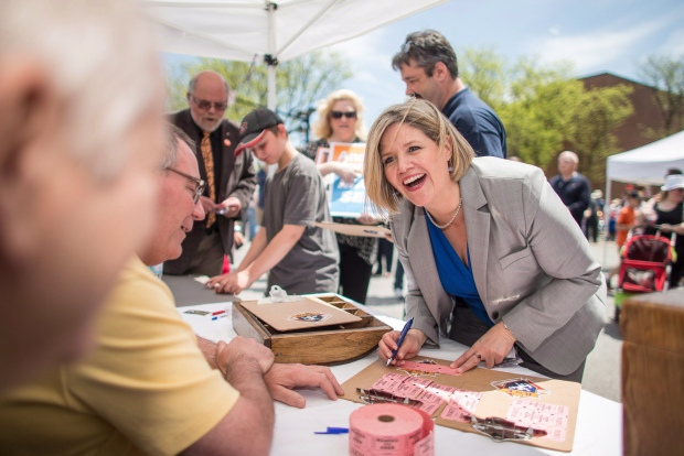 Horwath won't back down from corruption allegation