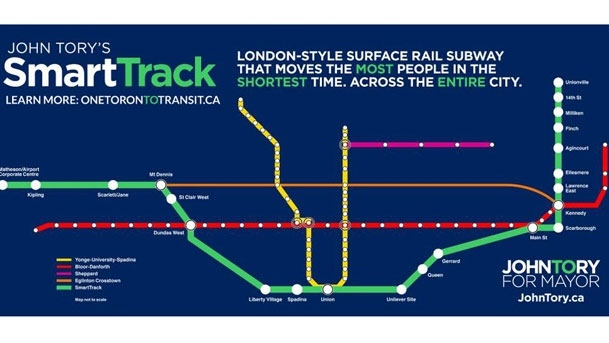 Tory wants to link Etobicoke, Scarborough by rail