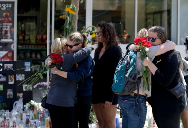 Memorial for deadly California rampage