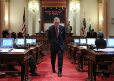 Darrel Steinberg at the Capitol in Sacramento