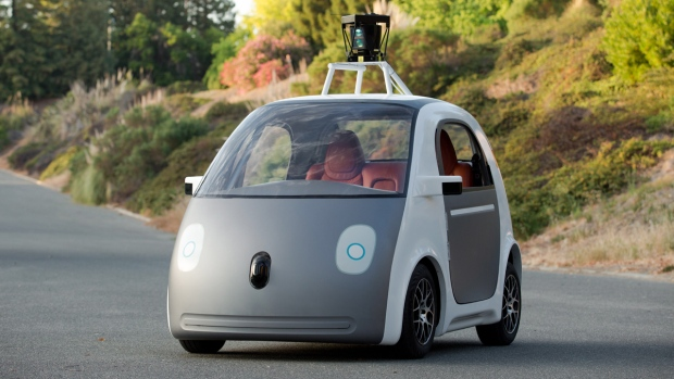 Google's prototype self-driving car