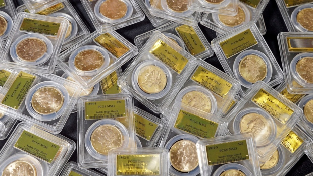 California gold coins to go up for sale