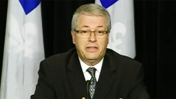 Blainville PQ MNA announced Thursday that he will no longer sit with Pauline Marois' party.