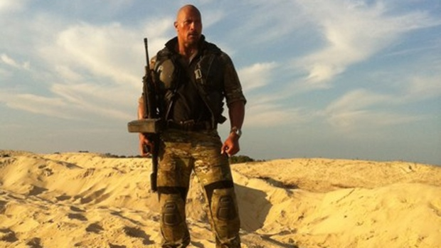 Dwayne Johnson in 'G.I. Joe 2: Retaliation'