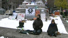 Occupy Montreal protesters have been told to pack up their tents or they will be removed (Nov. 24, 2011)