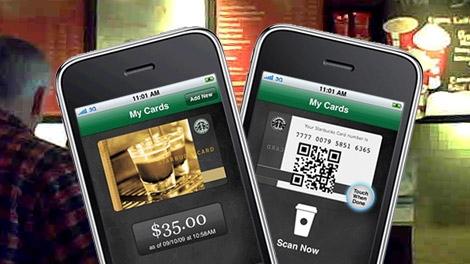 Starbucks mobile app generic