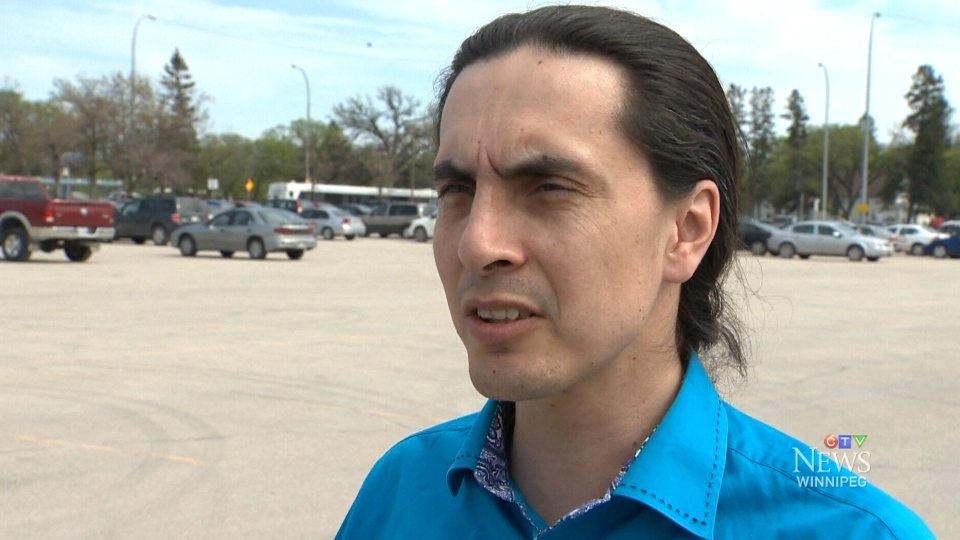 Chief Arlen Dumas from Mathias Colomb Cree Nation appears on CTV News Wednesday, May 28, 2014.