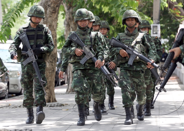 Thai soldiers