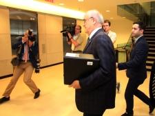 Julian Fantino leaves committee meeting