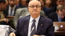 Julian Fantino in a veterans committee meeting