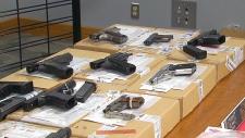 CTV Toronto: Police seize guns and drugs in raid