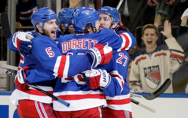 New York Rangers advance to Stanley Cup final