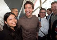 Tom Cruise in Toronto
