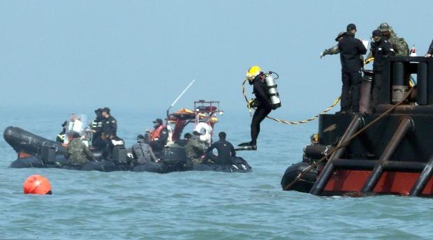 South Korean diver