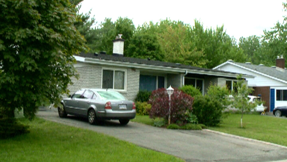 The Budd family home where Ottawa Police allege the assaults of two teens occurred.