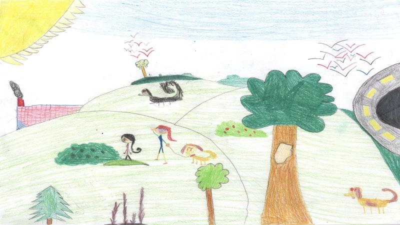 Emily McKaig, Grade 4, Huntley Centennial P.S. Carp
