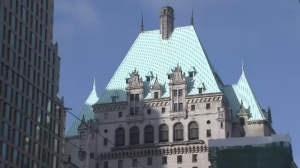 The iconic Hotel Vancouver. (CTV)