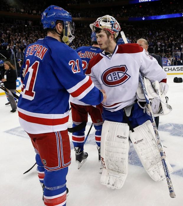 Montreal Canadiens goalie Dustin Tokarski