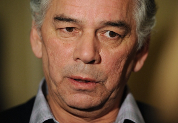 Ghislain Picard speaks to media