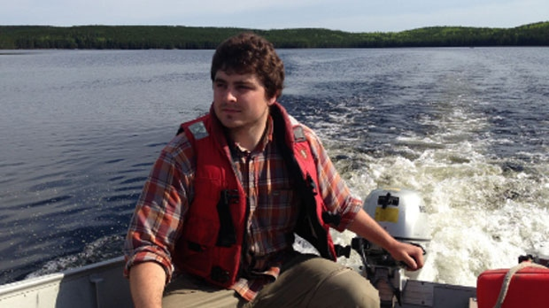 Biologist Colin Charles can continue water samples at ELA under new management. ELA has the most comprehensive and longest data record of freshwater lakes in the world.