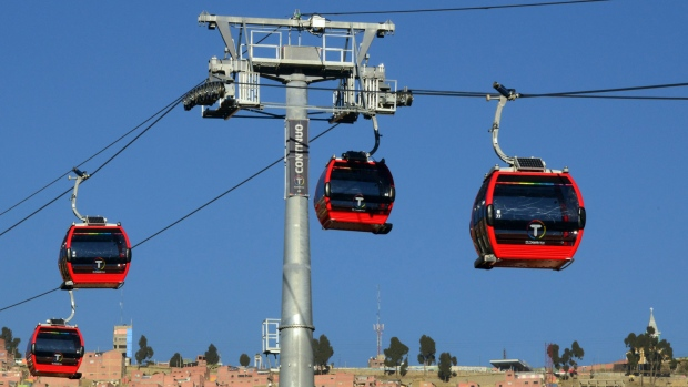 Bolivia opens first cable railway