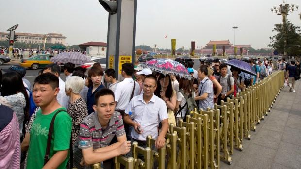 Tiananmen Square surveillance
