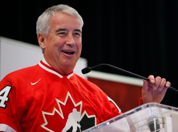 Hockey Canada president and CEO Bob Nicholson
