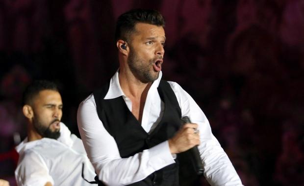 Puerto Rican singer Ricky Martin
