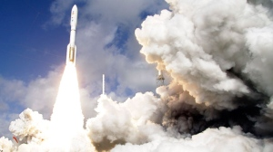 File photo showing the launch of NASA's Curiosity.