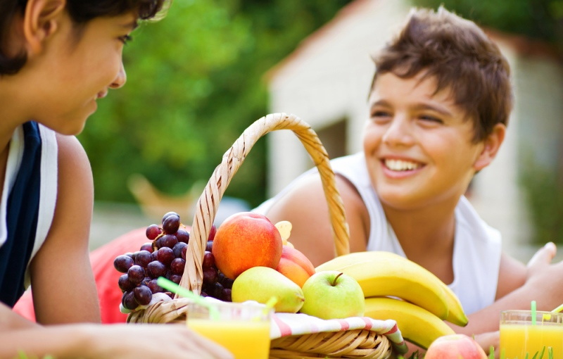 Only two per cent of American children meet the CDC's recommended targets for fruit and vegetable intake, according to the website of the Fruits and Veggies - More Matters initiative. ©Anna Omelchenko/shutterstock.com