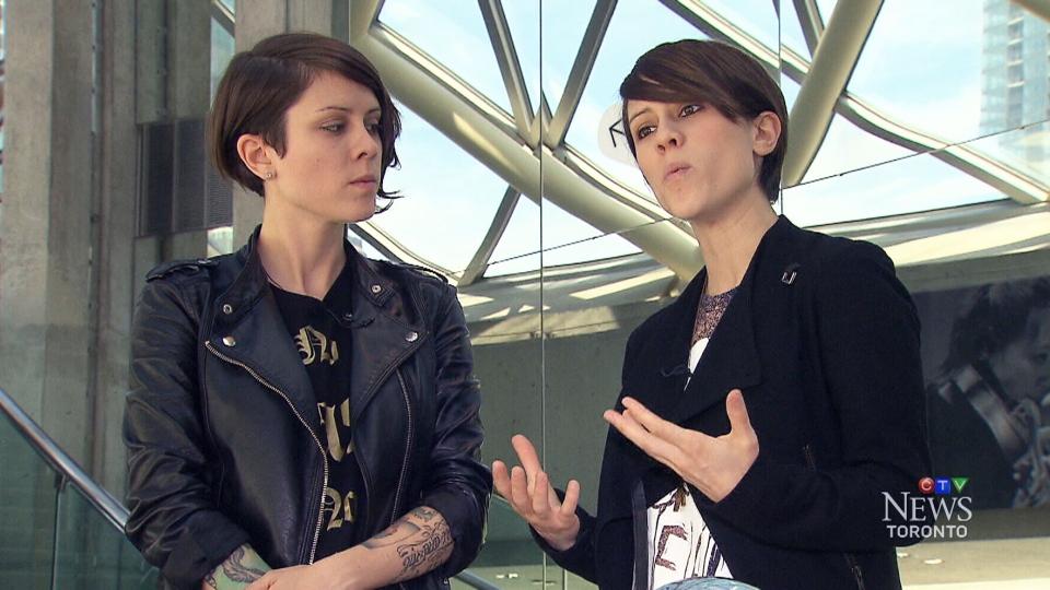 CTV Toronto: Tegan and Sara hit World Pride stage