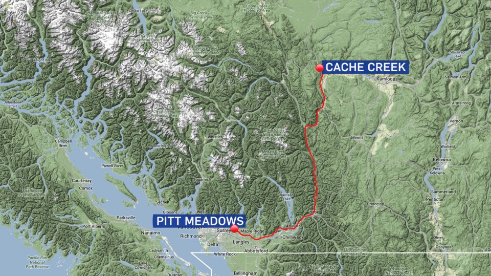 A 59-year-old cyclist was shot around 1 a.m. while participating in the two-day, 600-kilometre Cache Creek 600 cycling race