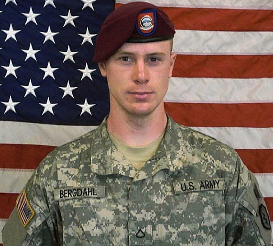 Sgt. Bowe Bergdahl is seen in this image provided by the U.S. Army.