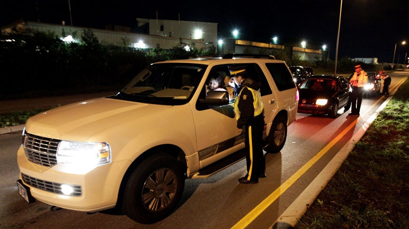 Impaired driving roadside check