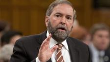 Mulcair questions Harper on EU trade deal