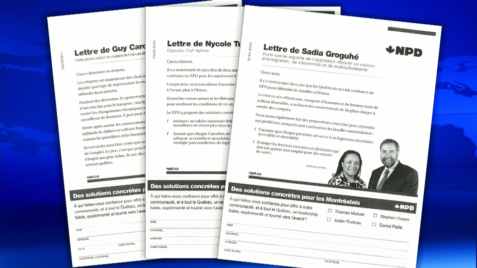 The Speaker of the House of Commons is confirming that the NDP broke the rules on using parliamentary resources with a series of mailings.