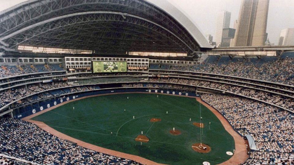 Toronto's SkyDome is shown in 1996. (Scott MacDonald / THE CANADIAN PRESS)