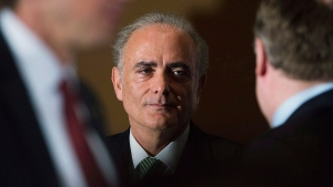 Air Canada CEO Calin Rovinescu in Toronto on February 4, 2014. (THE CANADIAN PRESS / Aaron Vincent Elkaim)