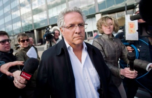 Tony Accurso leaves SQ headquarters in Montreal in a April 17, 2012 file photo. (Graham Hughes / THE CANADIAN PRESS)