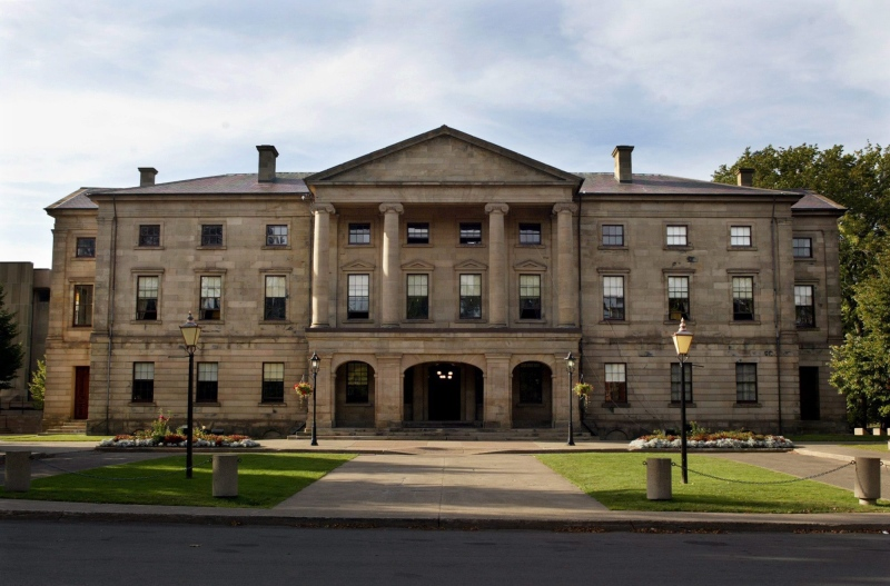 The Prince Edward Island legislature in Charlottetown on Thursday, Sept. 25, 2003. (Andrew Vaughan / THE CANADIAN PRESS)