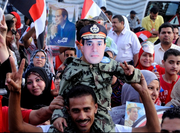 el-Sissi declared Egypt's president-elect