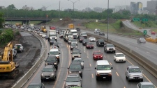 Summer construction means more traffic gridlock in Ottawa