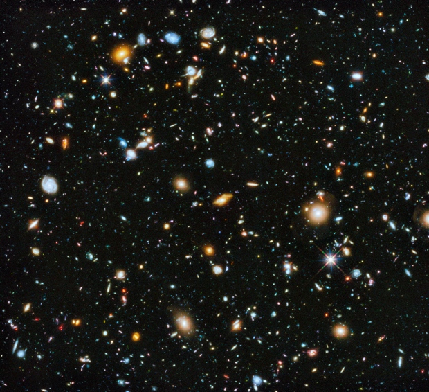 New Hubble image of cosmos