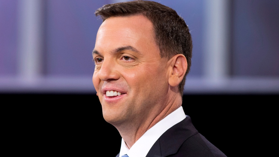 Ontario PC leader Tim Hudak takes part in the live leaders debate at CBC during the Ontario election in Toronto on Tuesday, June 3, 2014. (Frank Gunn / THE CANADIAN PRESS)