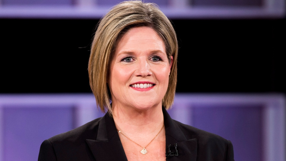 NDP leader Andrea Horwath takes part in the live leaders debate at CBC during the Ontario election in Toronto on Tuesday, June 3, 2014. (Frank Gunn / THE CANADIAN PRESS)