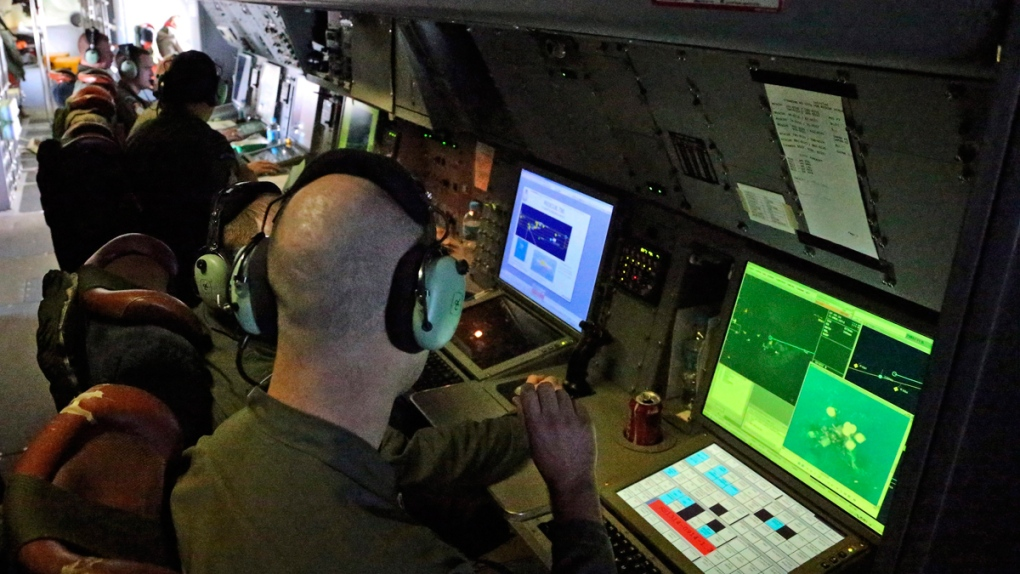 Aboard a Royal New Zealand Air Force P-3 Orion