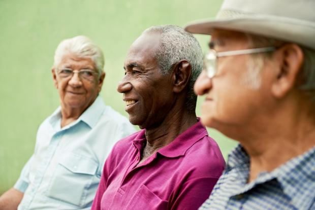 Elderly men - aging brain