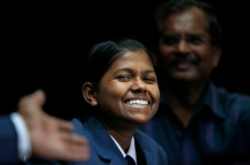 Malavath Poorna is youngest girl to climb Everest