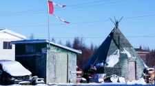 Red Cross, worker, Attawapiskat, crisis